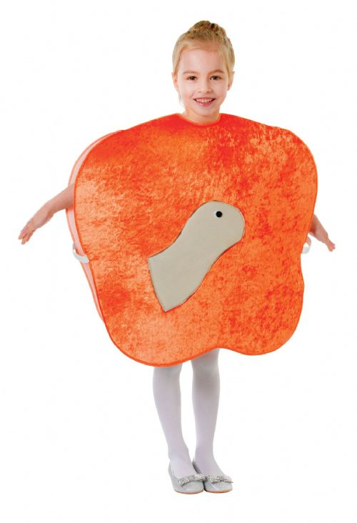 Childs Giant Peach + Worm Costume James Giant World Book Day Fancy Dress Outfit